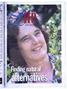 Isabell Shipard talks Herbs and plant information in the Sunday Life newspaper