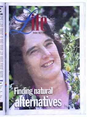 Isabell Shipard talks Herbs in the Sunday Life newspaper