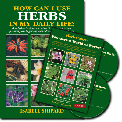 Herb Book and DVD Bundle